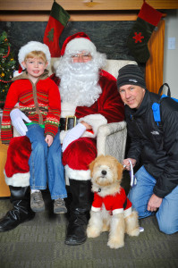 McNutts with Santa 2012