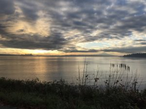 Sunrise from Bainbridge Island